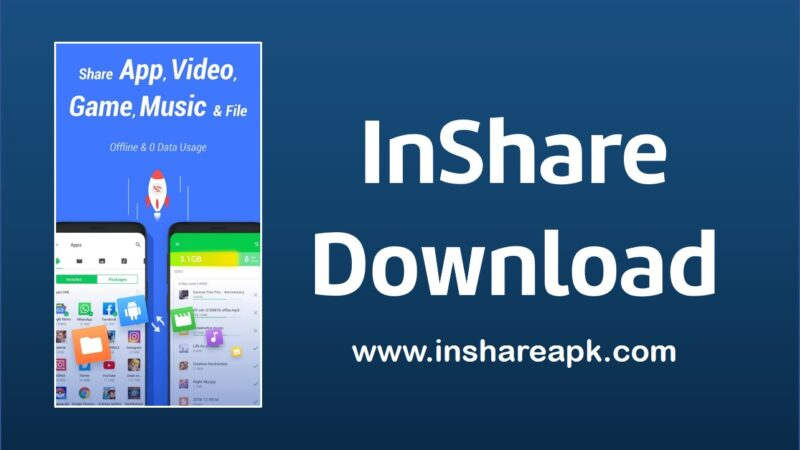 InShare Apk Download | Share All Apps & File Transfer to share unlimited joy now!