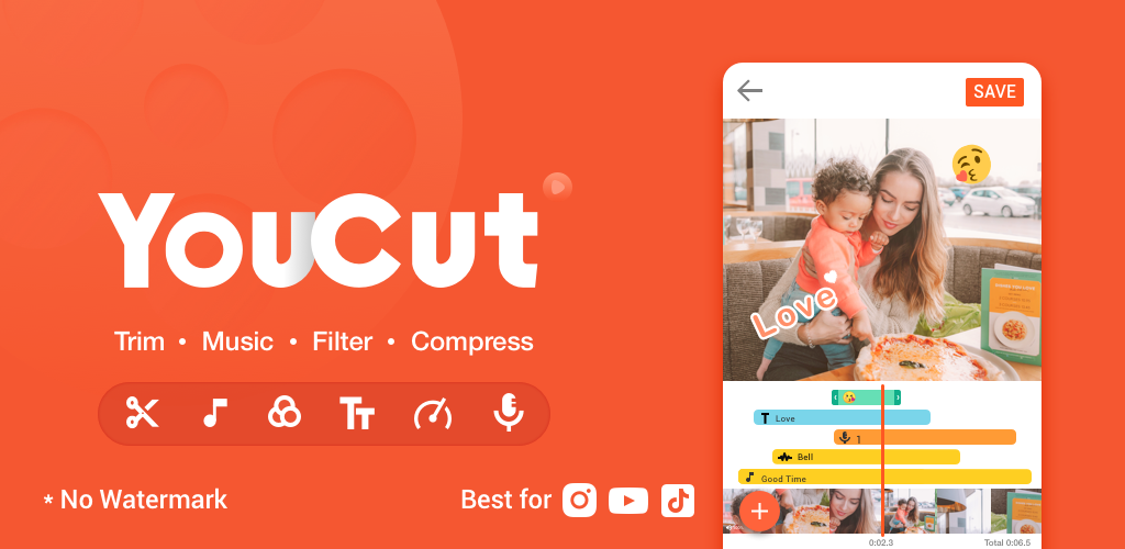 YouCut App Download – Video Maker and Editor For Android